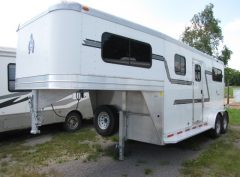 Used horse trailers for sale ontario canada livestock trailers 2010 adams 2h straight with dress sciox Image collections