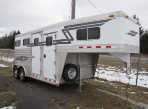 2002 Four Star 2 Horse Straight w/ Dress