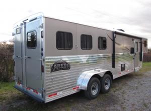 Bison Laredo 3 Horse 10ft Shortwall w slide